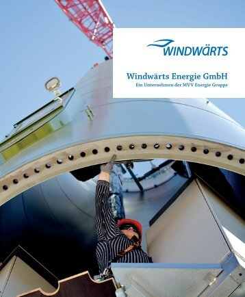 Unternehmenbroschüre Windwärts