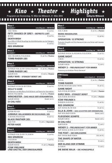 Kino KW11 / 15.03.18