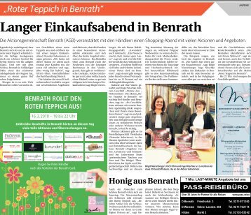 Roter Teppich in Benrath  -15.03.2018-