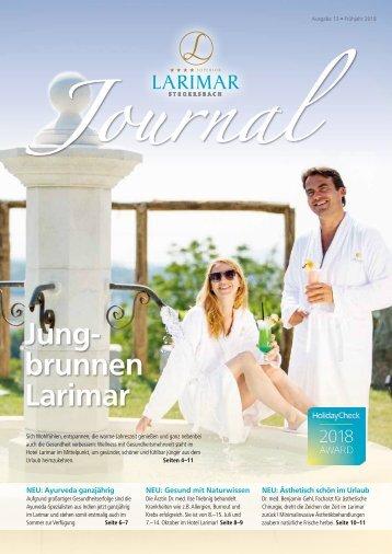 Larimar Journal Frühling & Sommer 2018