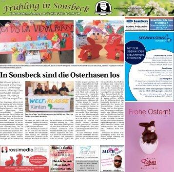 Frühling in Sonsbeck  -16.03.2018-