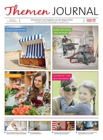 Gleitz Themen Journal - Ausgabe Peine 22.03.18