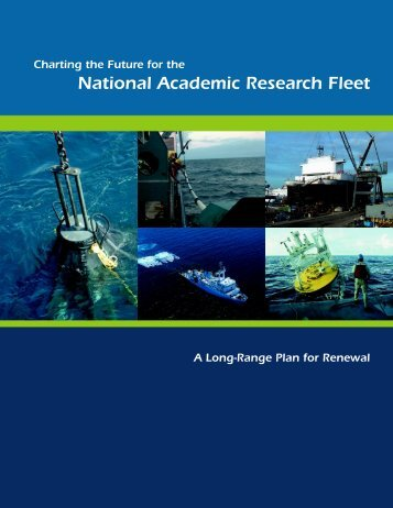National Academic Research Fleet - Geo Prose