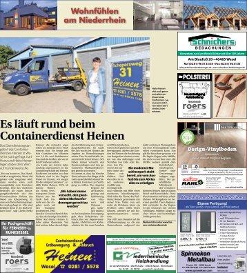 Wohnfühlen am Niederrhein  -21.03.2018-