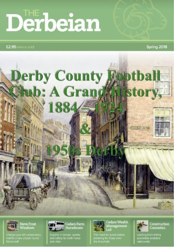 Featured Article Derby County Football Club A Grand History, 1884  to 1924 and 1950's Derby