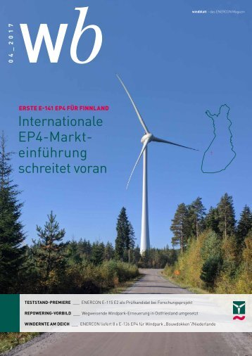Enercon Windblatt 04/2017
