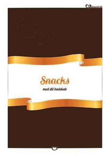 Sig det sødt - Snacks