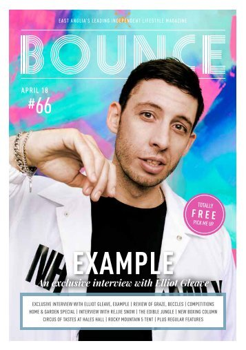 Bounce Magazine April 2018