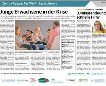 Gesund leben im Rhein-Kreis Neuss  -28.03.2018-