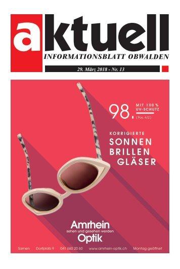 Aktuell Obwalden 13-2018