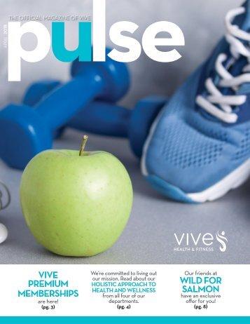 VIVE Health & Fitness   April 2018