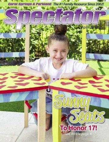 April 2018 Spectator Magazine