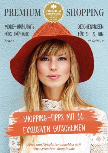Premium Shopping Booklet Q2 2018