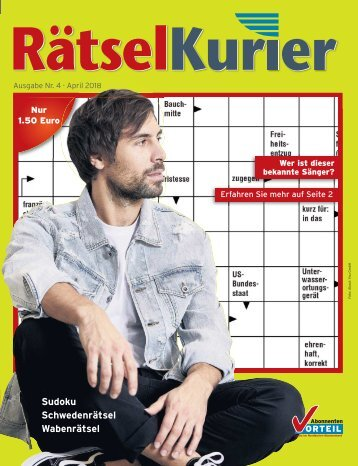 Rätselkurier April
