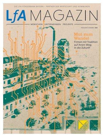 LfA-Magazin Frühjahr / Sommer 2018