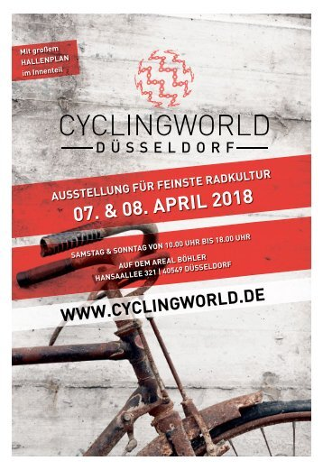 Ciyclingworld Düsseldorf  -04.04.2018-