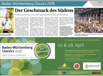 Baden-Württemberg Classics 2018  -05.04.2018-