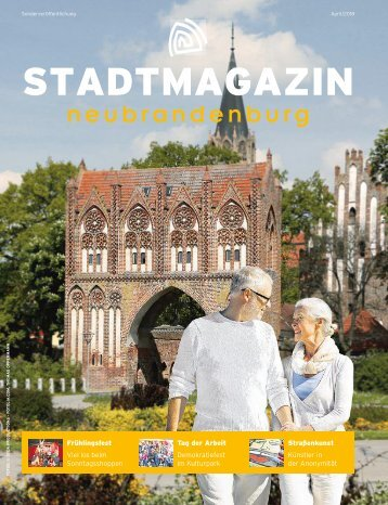 Stadtmagazin April