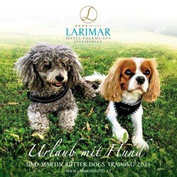 Urlaub mit Hund und Martin Rütter Dogs Training 2018