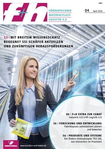 f+h fördern und heben 4/2018