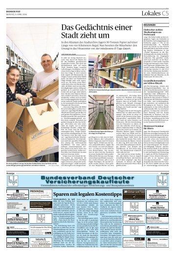 Bundesverband Deutscher Versicherungskaufleute  -09.04.2018-
