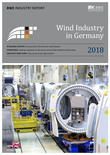 BWE Industry Report - Wind Industry in Germany 2018