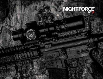 Nightforce Catalog 2018