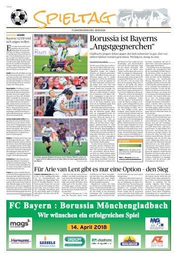 Spieltag: FC Bayern München - Borussia  -14.10.2018-