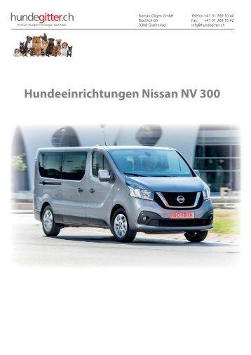 Nissan_NV_300_Hundeeinrichtungen