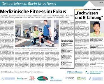 Gesund leben im Rhein-Kreis Neuss  -18.04.2018-