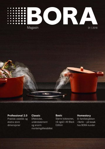 BORA Magazin 01|2018 – Norwegian
