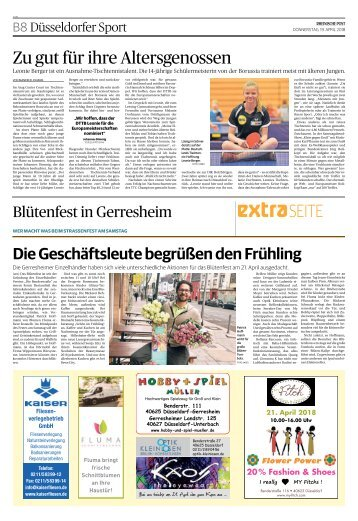 Blütenfest in Gerresheim  -19.04.2018-