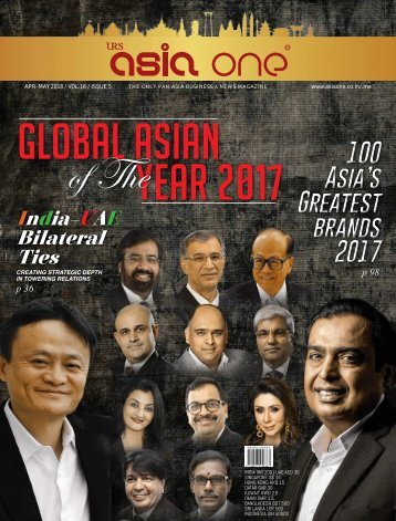 AsiaOne Magazine April-May 2018 Issue