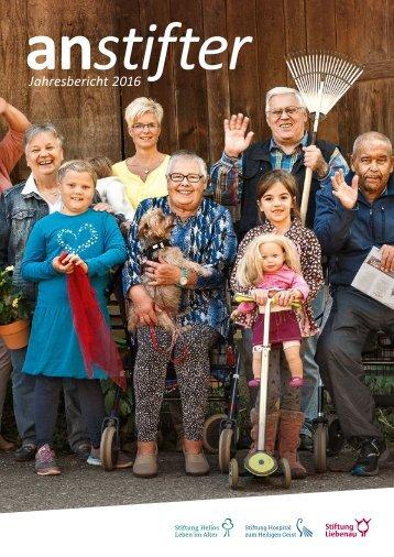 Jahresbericht 2016 der Stiftung Liebenau