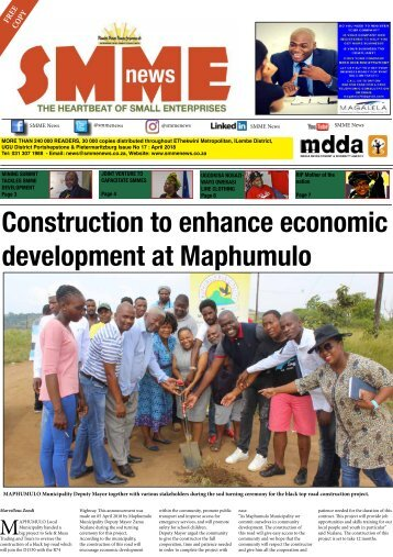SMME NEWS  - APRIL 2018 ISSUE