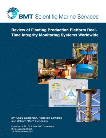 Integrated Marine Monitoring System - BMT Group