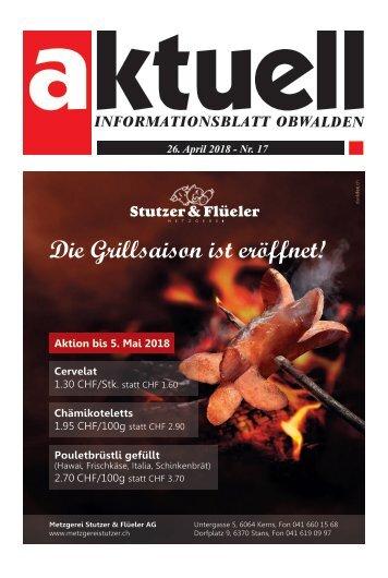 Aktuell Obwalden 17-2018