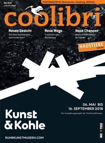 Mai 2018 - coolibri Oberhausen, Duisburg, Mülheim