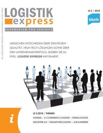 LOGISTIK express Fachzeitschrift | 2018 Journal 2