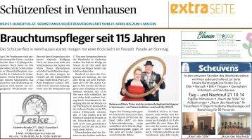 Schützenfest in Vennhausen  -26.04.2018-