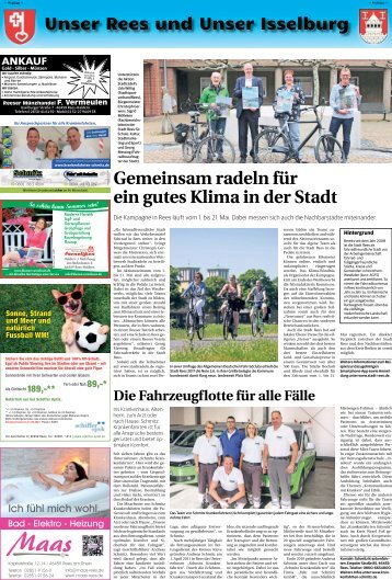 Unser Rees und Unser Isselburg  -26.04.2018-