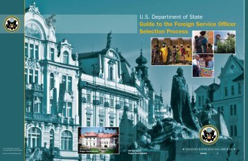 Guide to the Foreign Service Officer Selection Process - US State ...