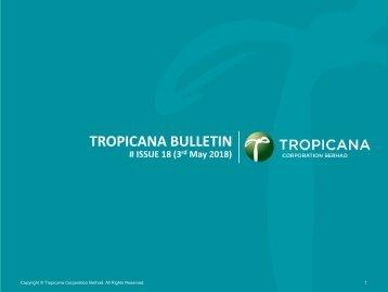 Tropicana Bulletin Issue 18
