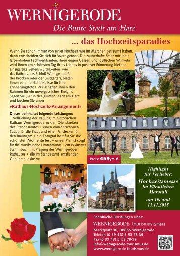 """""""Rathaus-Hochzeits-Arrangement"""""""