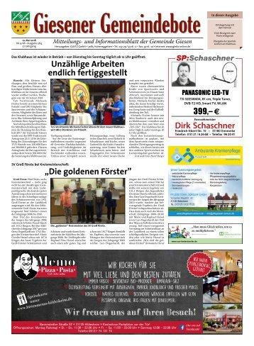 Giesener Gemeindebote 10.05.18