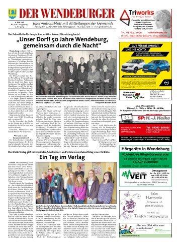 Der Wendeburger 11.05.18