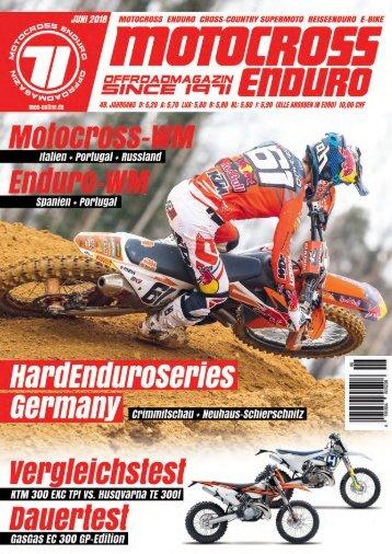 Motocross Enduro Ausgabe 06/2018