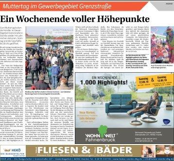 Muttertag im Gewerbegebiet Grenzstraße  -10.05.2018-