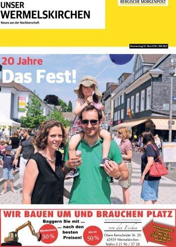 Unser Wermelskirchen  -10.05.2018-