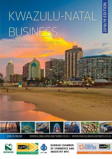 KwaZulu-Natal Business 2018-19 edition